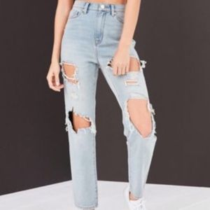 BDG Urban Outfitters high rise mom jeans